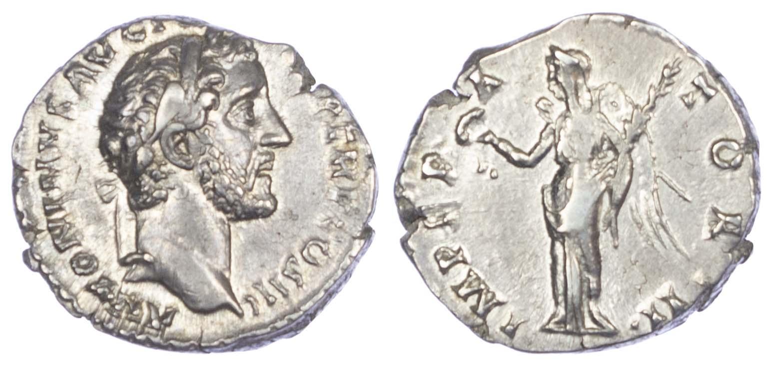 Antoninus Pius (AD 138-161) AR Denarius.
