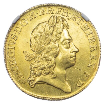 1717 George I Two Guineas - MS63
