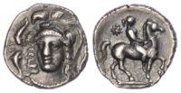 Sicily, Syracuse, Silver Hemidrachm