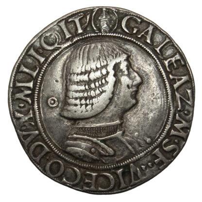Italy, Milan, Galeazzo Maria Sforza, Silver Testone