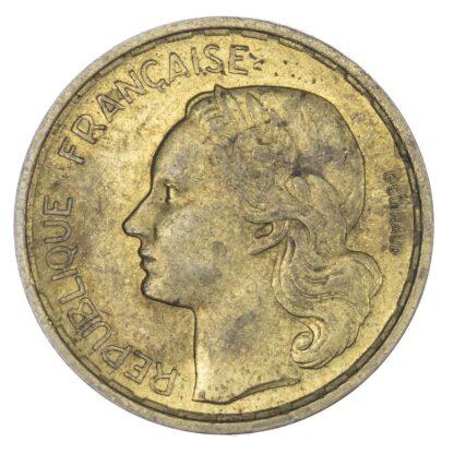 France, Fourth Republic, copper-aluminium 20 Francs, 1950 B - rare variety