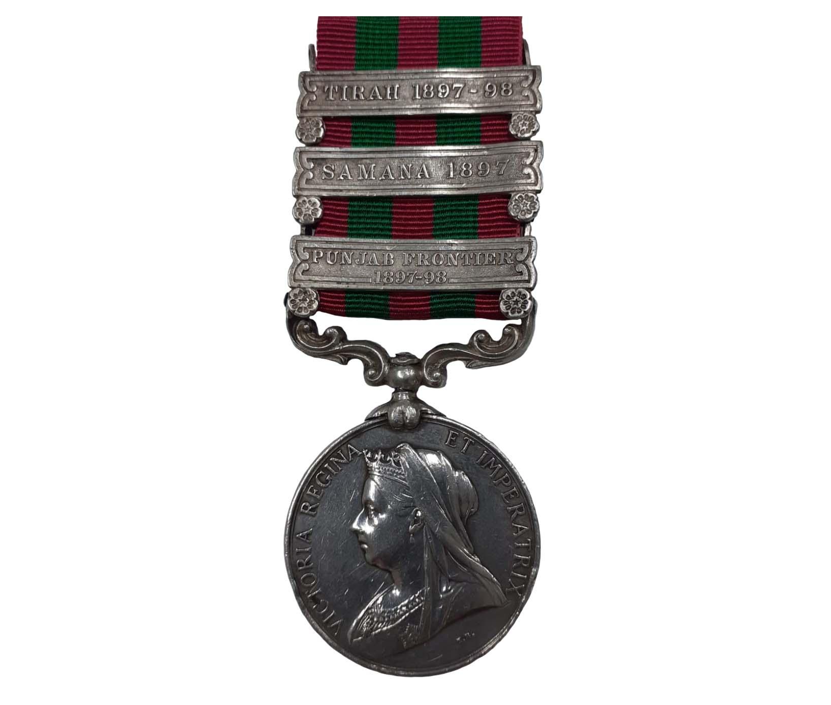 India Medal 1895-1902, QVR to Driver Aktara