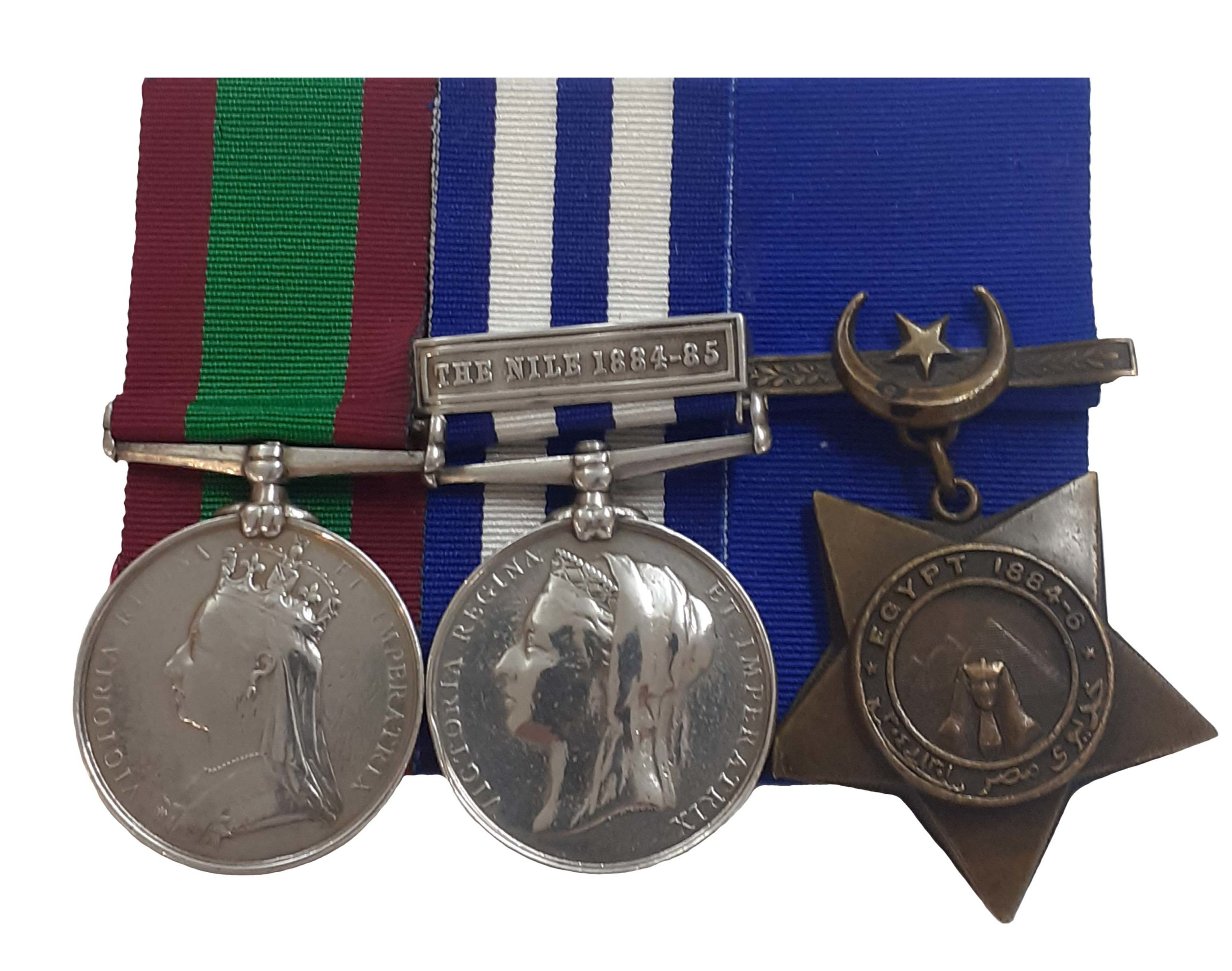 A Royal Irish Regiment Afghanistan Egypt Group of 3 to Private James Jorie