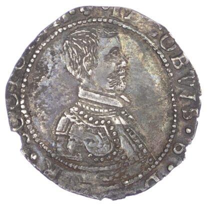 James VI, (1567-1625), Seventh coinage, Five Shillings, 1595