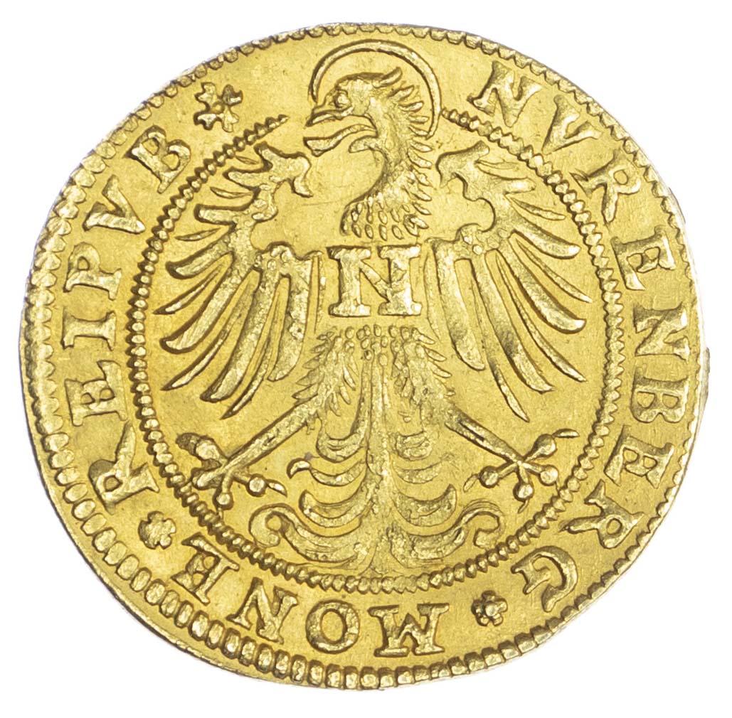 Germany, Nürnberg, gold Goldgulden, 1613