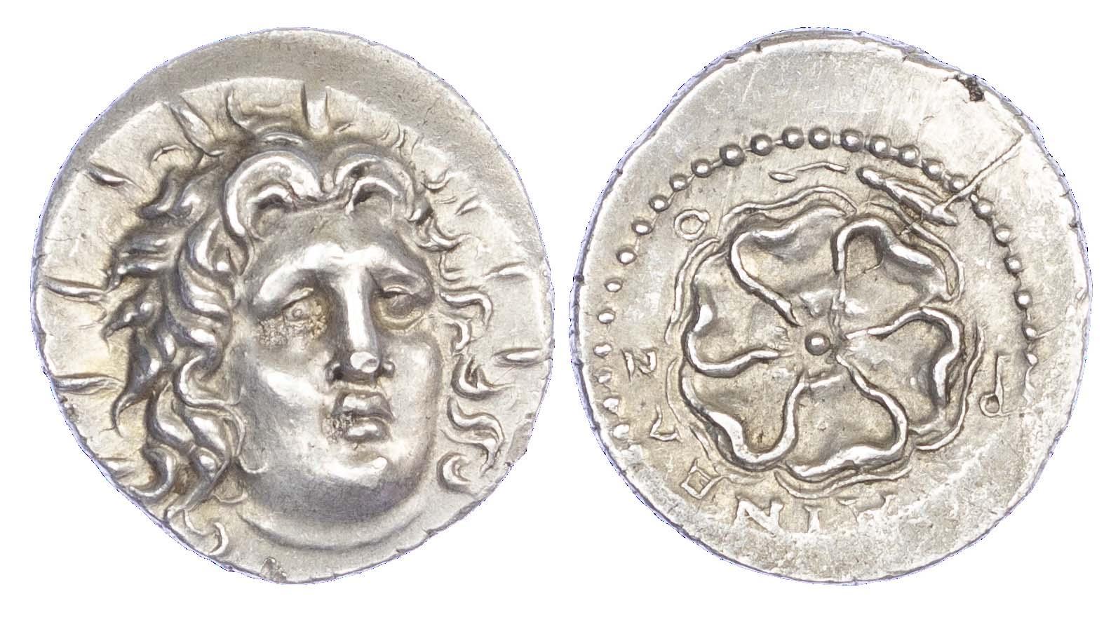 Rhodes, Silver Drachm