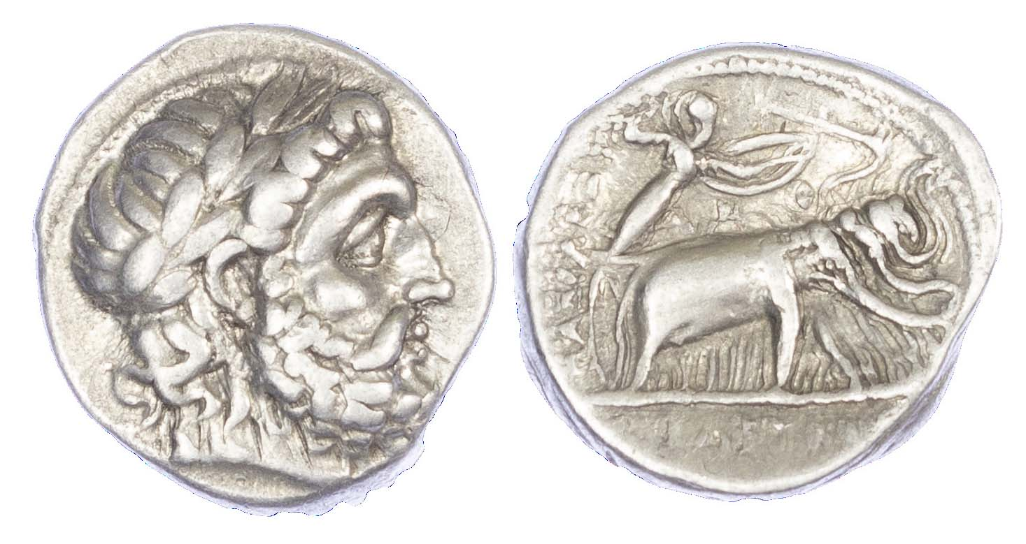 Seleukos I, Silver Drachm