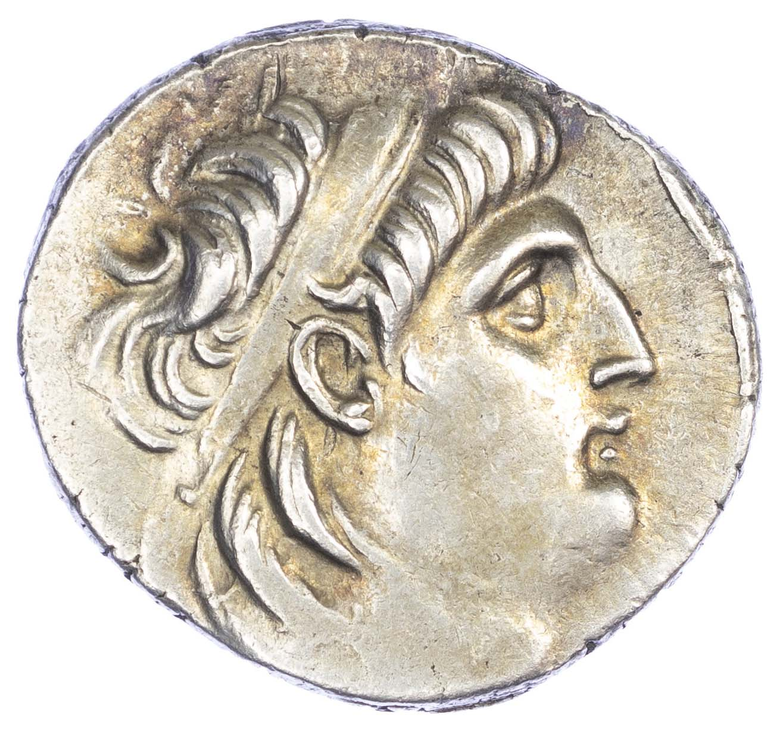 Seleukid Empire, Antiochos VII Euergetes AR Tetradrachm