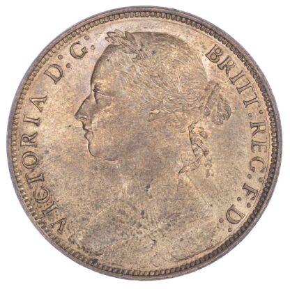Victoria (1837-1901), 1881,Heaton mint Penny