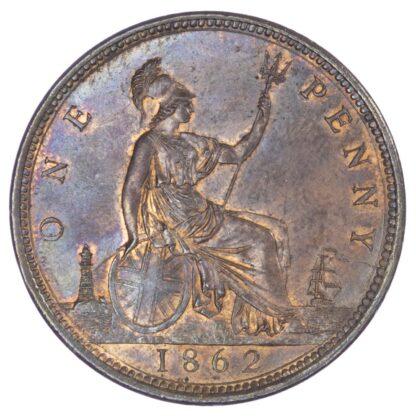 Victoria (1837-1901), Penny, 1862
