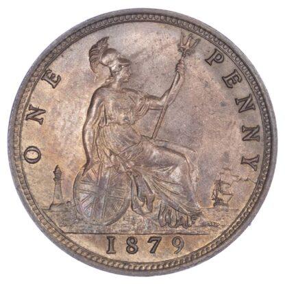Victoria (1837-1901), Bronze Penny, 1879