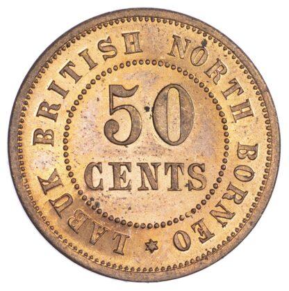 Malaysia, British North Borneo, Labuk, copper Proof 50 Cents
