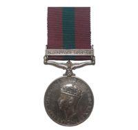 General Service Medal 1918-62, GVIR, one clasp, Palestine 1945-48, to Private D. Dornan