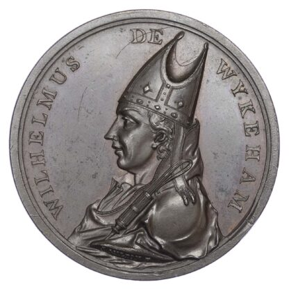 George III, Winchester College Latin Prize, Prince of Wales's Royal Prize Medal