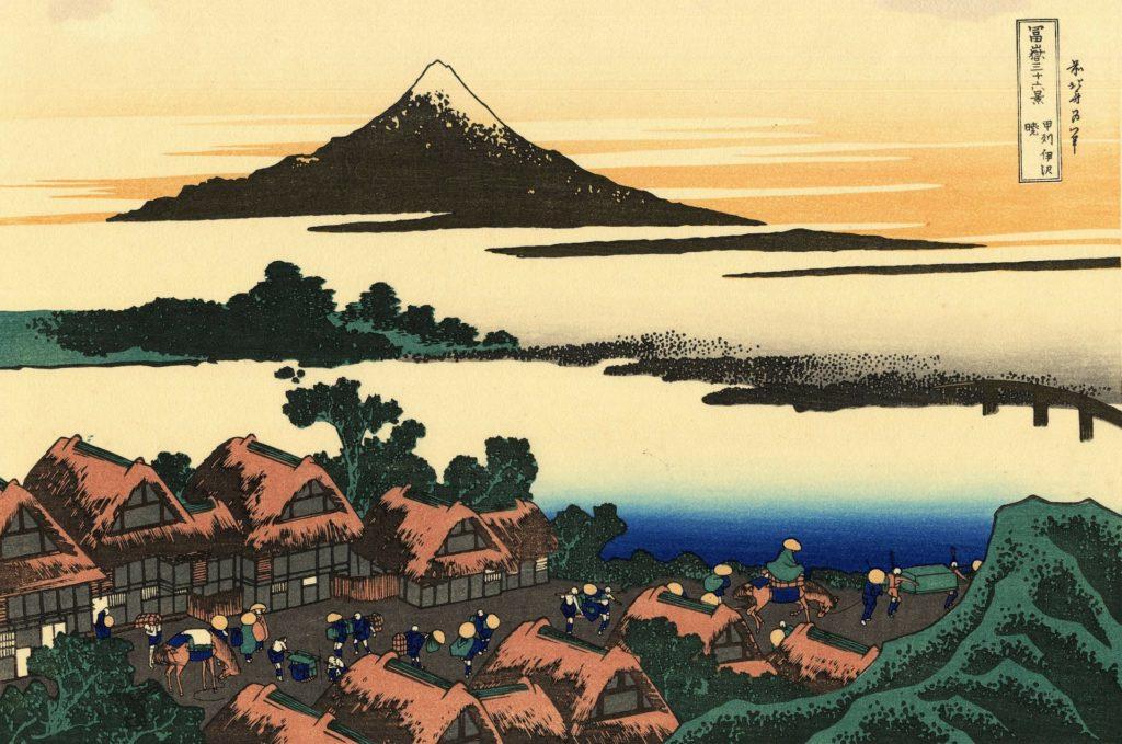 Illustration of Mount Fuji