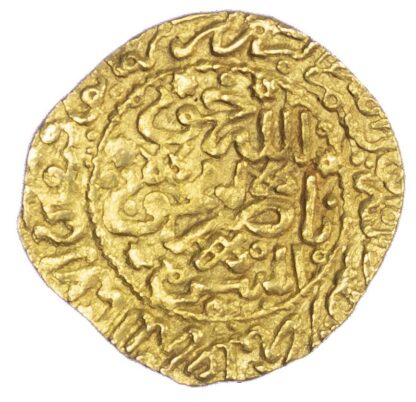 Morocco, 'Alawi Sharifs, Ismail Al-Samin (AH 1082-1139 / 1672-1727 AD), gold Dinar Benduqi