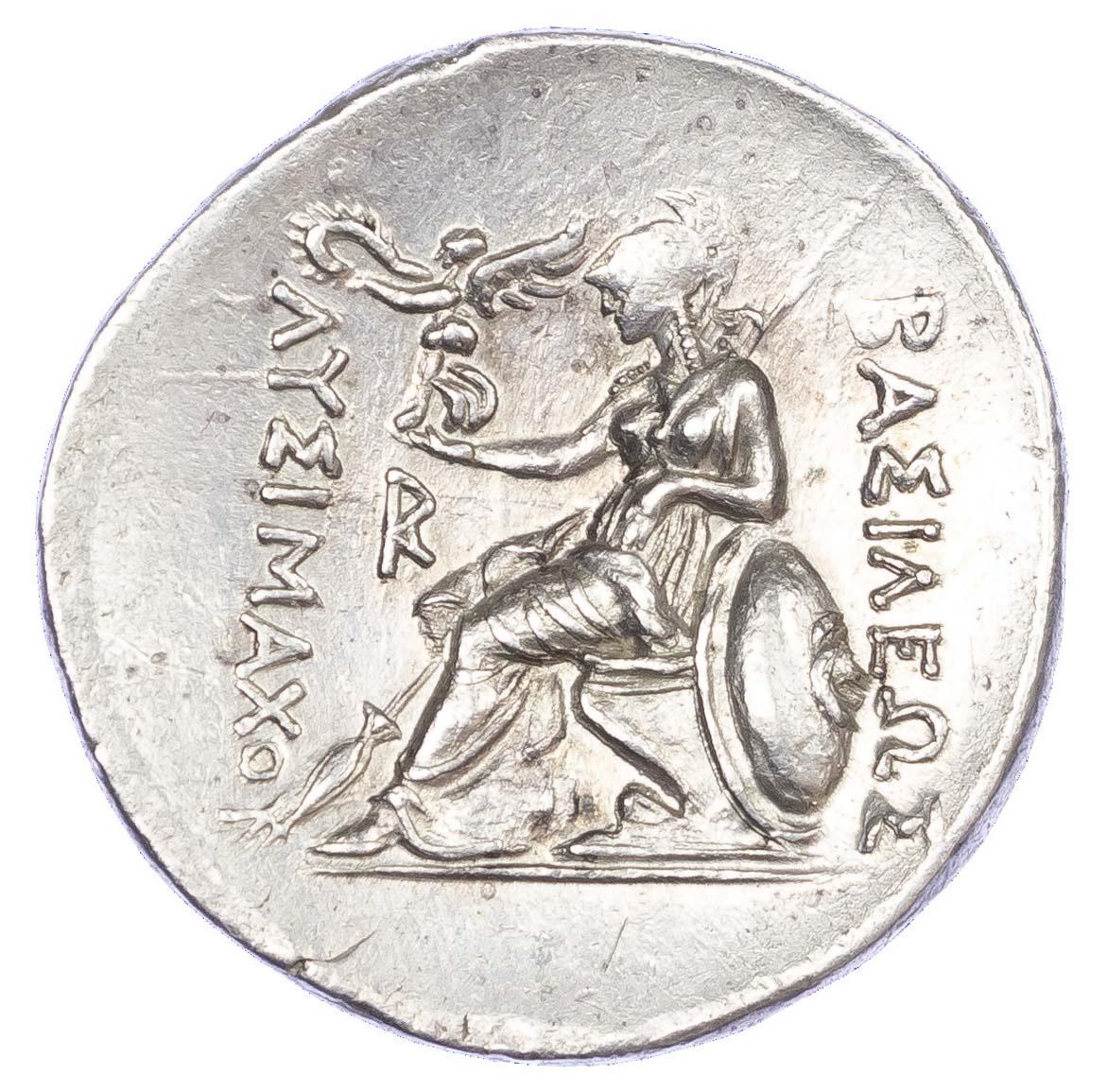 Lysimachos, Silver Tetradrachm