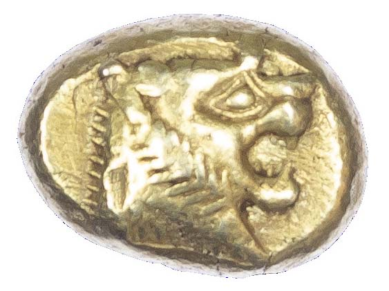 Kingdom of Lydia, Alyattes, Electrum Trite