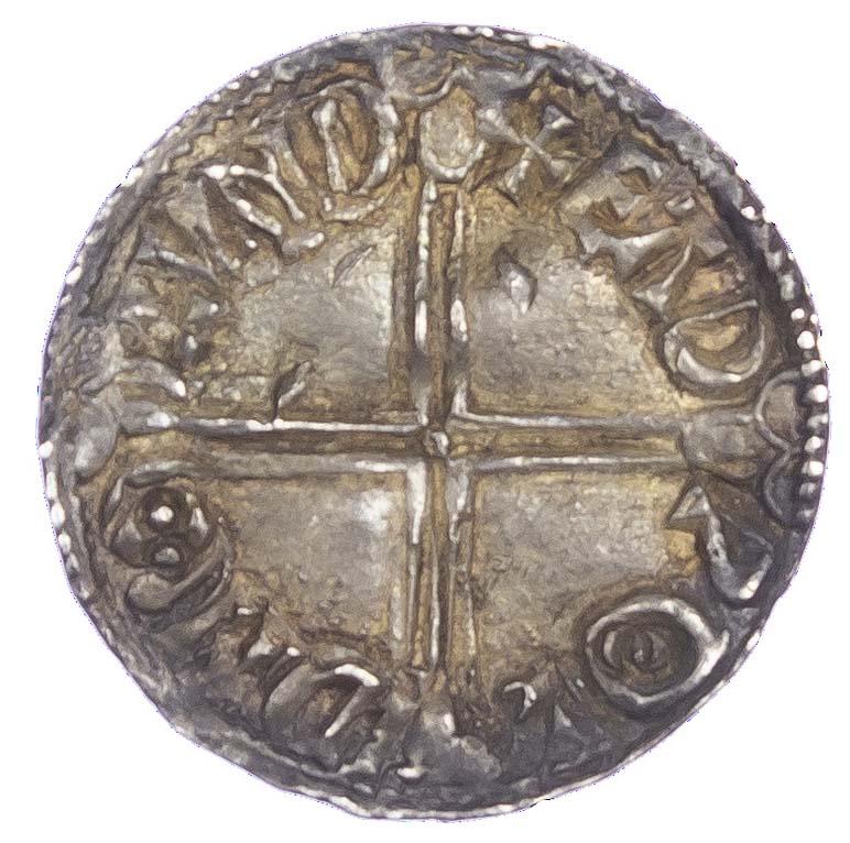 Aethelred II (978-1016), Penny, Long cross type, London mint