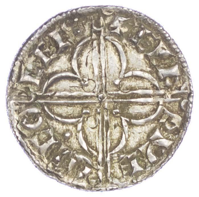 Canute (1016-35), Penny, Quatrefoil type (c.1017-1023), Colchester mint