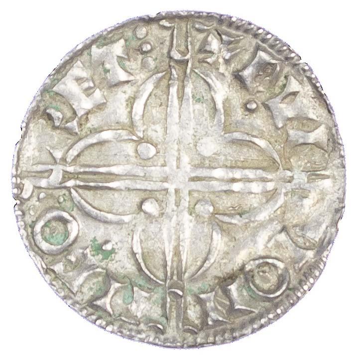 Canute (1016-35), Penny, Quatrefoil type, Hertford mint