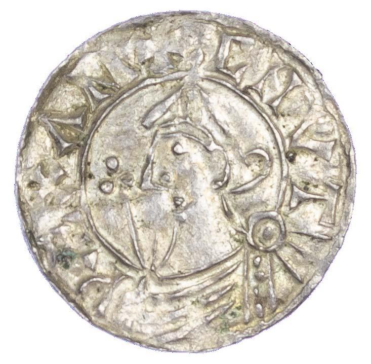 Canute (1016-35), Penny, Helmet type, Thetford mint