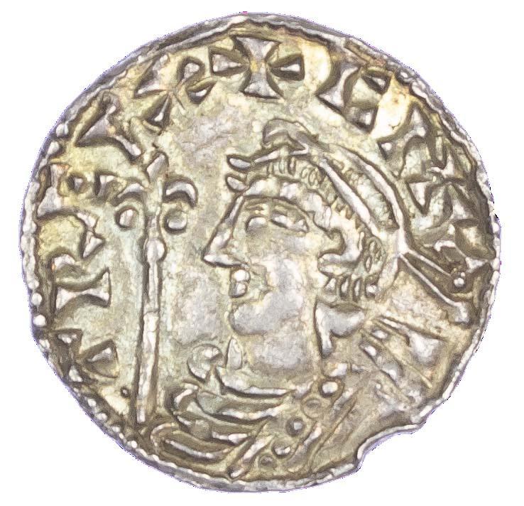 Canute (1016-35), Penny, Short cross type, London Mint