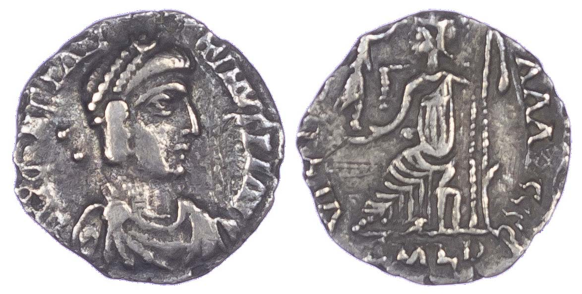 Constantine III, Silver Siliqua