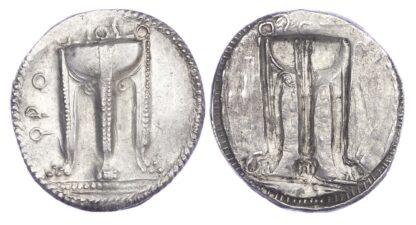 Bruttium, Kroton, Silver Nomos