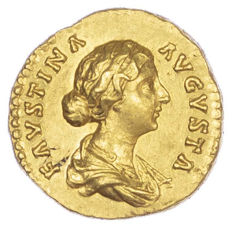 Faustina Junior, Gold Aureus