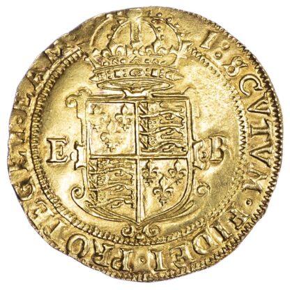Elizabeth I (1558-1603), Pound, Seventh issue, mintmark 1