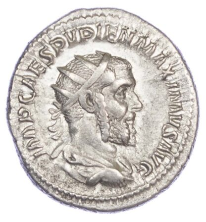 Pupienus, Silver Antoninianus
