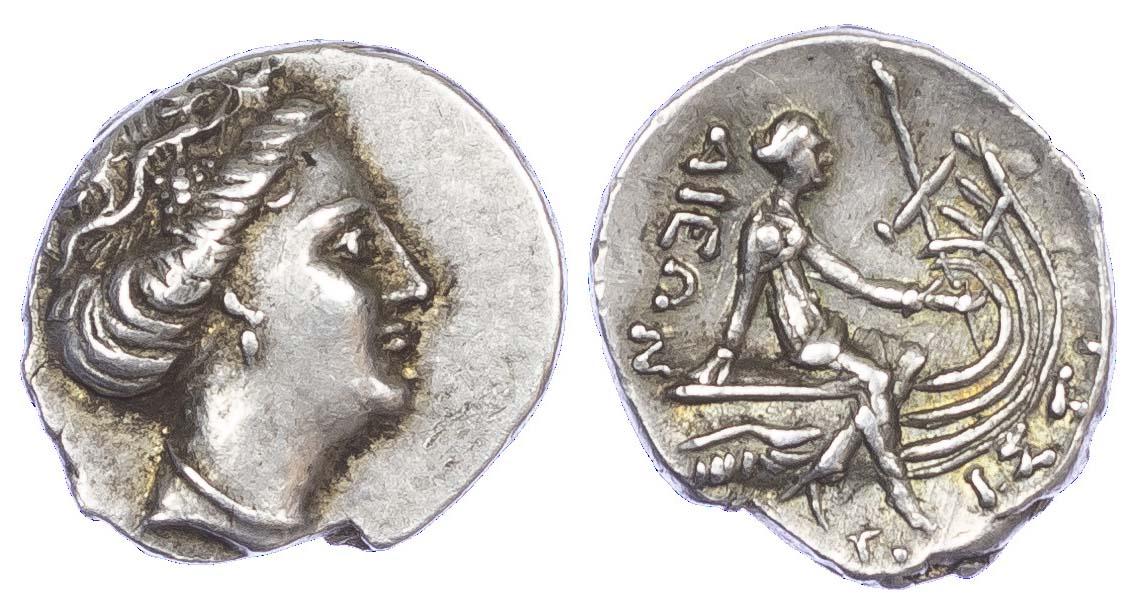 Euboea, Histaia, Silver Tetrobol