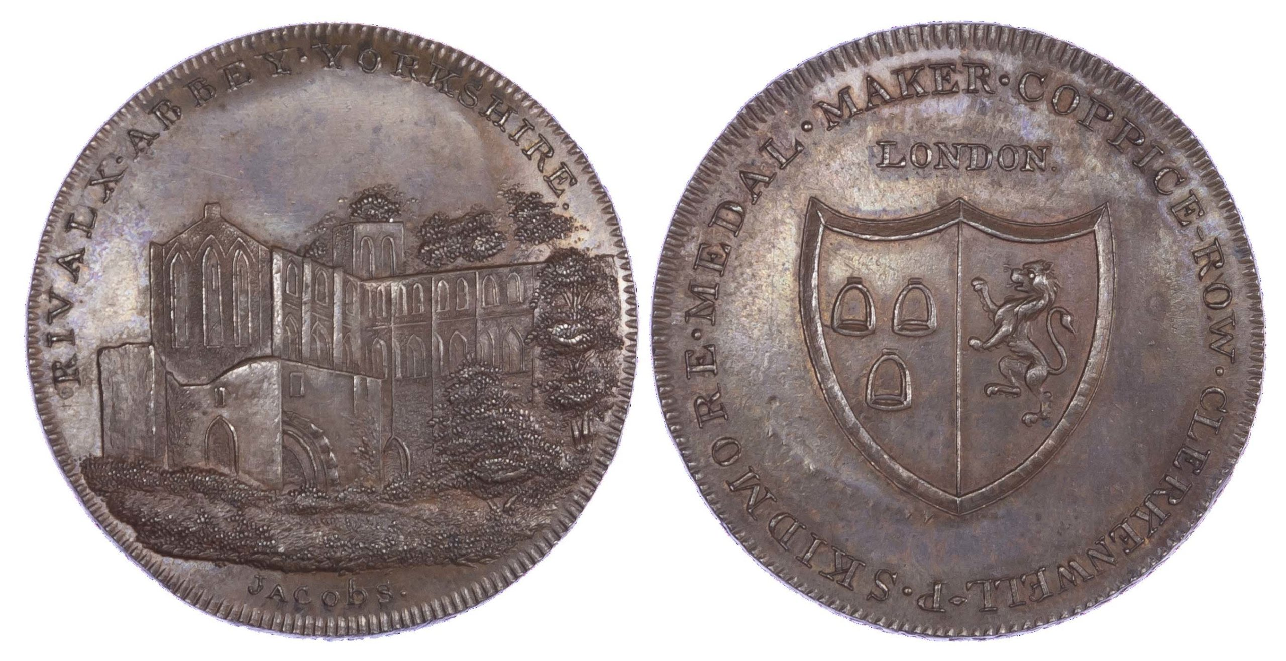 Yorkshire, RIVAULX, Skidmore's Clerkenwell series, AE Penny