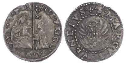 Italy, Venice, Gerolamo Priuli (1559-67), silver 6 Soldi